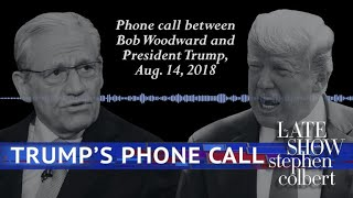 More Audio From Bob Woodward's Call With The President