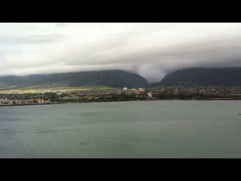A Maui Morning at Kahului, Hawaii (time-lapse)