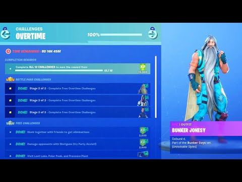 """*NEW* OVERTIME REWARDS in Fortnite! NEW """"STORM SCOUT SNIPER"""" Gameplay! (Fortnite LIVE Update)"""