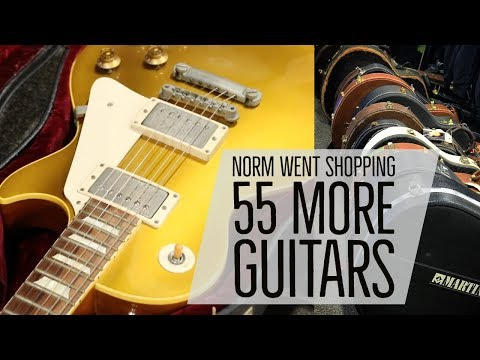 Norm went shopping!!! 55 More Guitars here at Norman's Rare Guitars