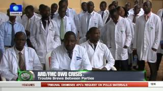 News Across Nigeria: Owo Resident Doctors Accuse Mgt  Of High Handedness