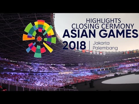 CLOSING CEREMONY ASIAN GAMES 2018 Highlights Vlog