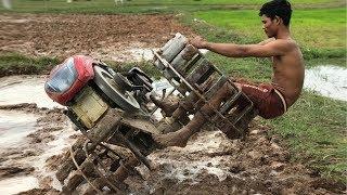 รถแทรกเตอร์ ไถดิน Máy kéo Tractor Kubota Trachang Thailand