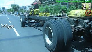 Extreme Driving New Mercedes Benz Bus Chassis OH1526