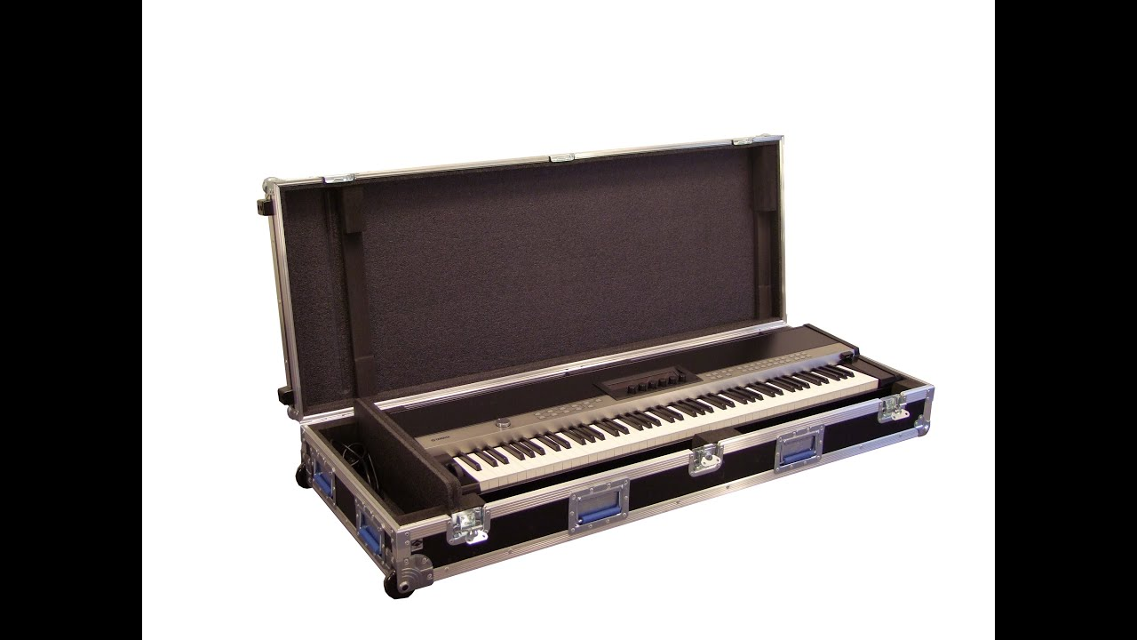 capro flight case for yamaha cp1 stage piano youtube. Black Bedroom Furniture Sets. Home Design Ideas