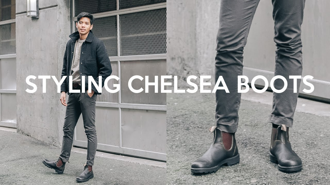 How to Style Chelsea Boots Men