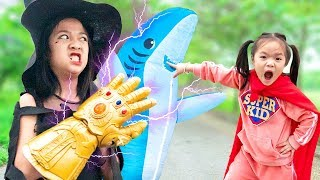Phù Thuỷ Và Siêu Anh Hùng Nhí ❤ Đại Chiến Mứt Tết - Trang Vlog