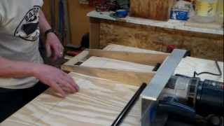 Scarfing Plywood Bottom For 17x54 Drift Boat Part One.