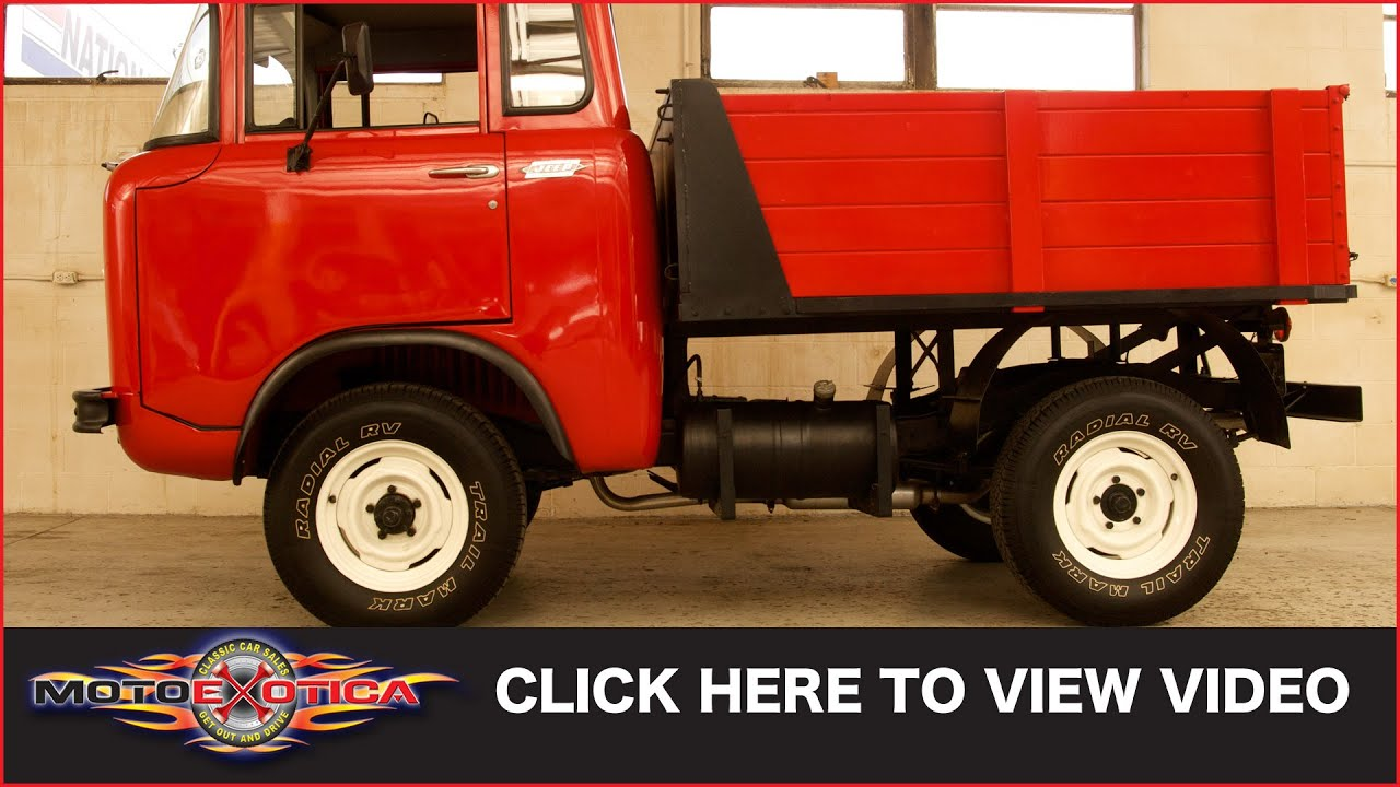 1963 Jeep FC150 Cab Over SOLD