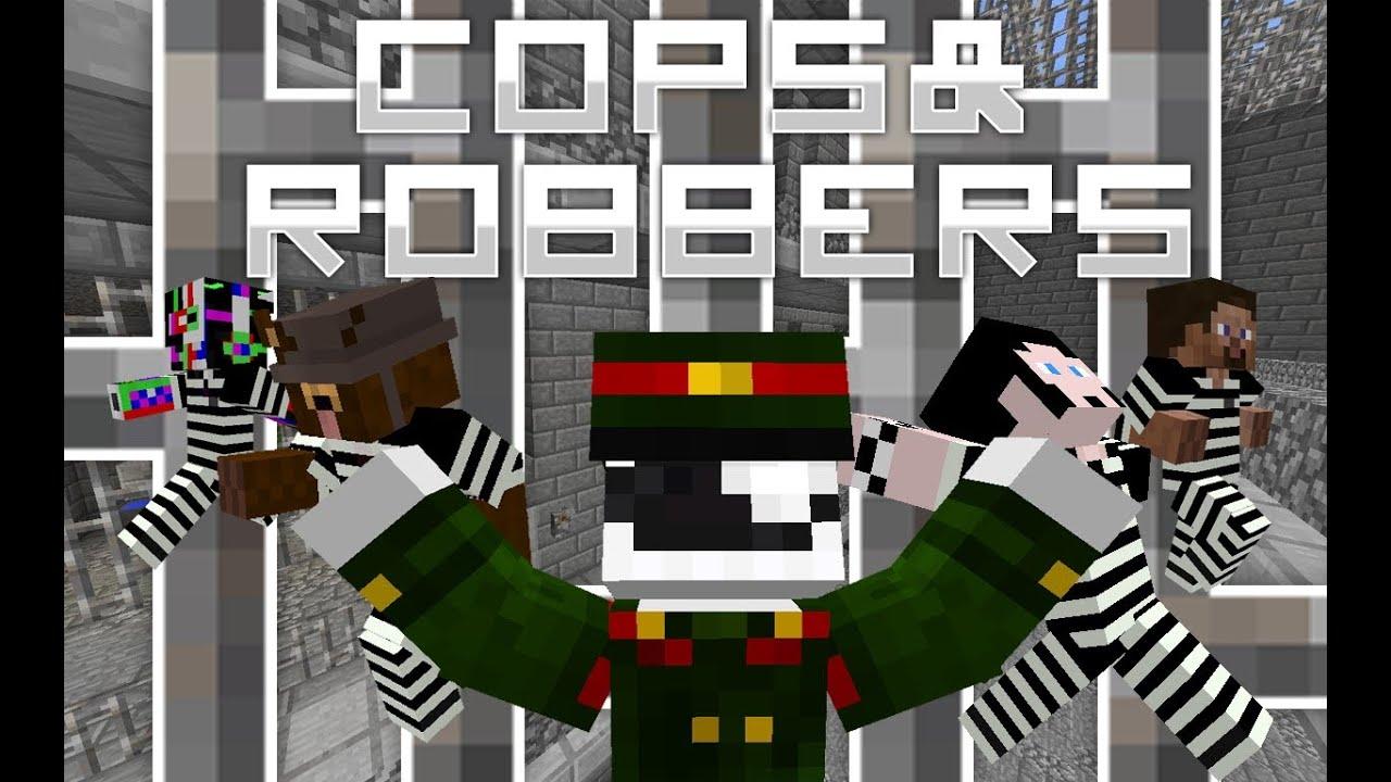 Minecraft: COPS N ROBBERS – CAI NGỤC VS TÙ NHÂN!!!