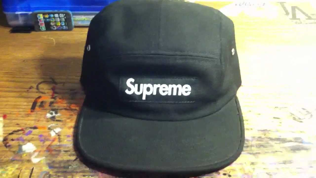 Supreme Hat 5 Panel - YouTube