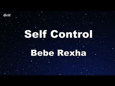 Self Control - Bebe Rexha Karaoke 【No Guide Melody】 Instrumental