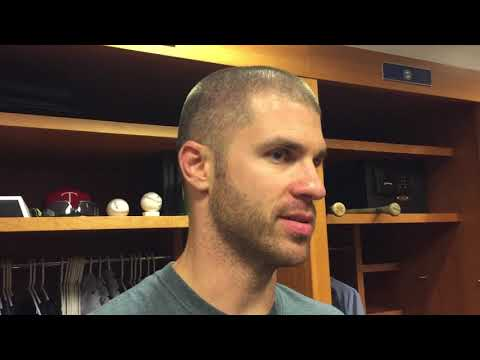 Joe Mauer on 3-pitch strikeout vs Aroldis Chapman in 2-1 loss to Yankees