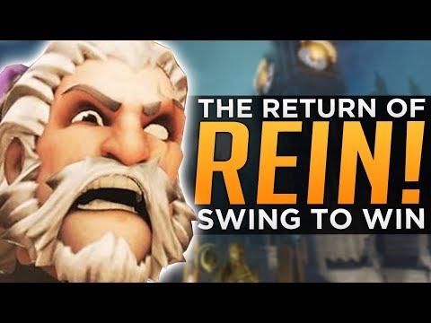 Overwatch: Reinhardt is FINALLY BACK! - SWING to WIN!