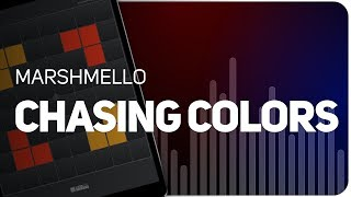 Playing Chasing Colors | Marshmello on SUPER PADS LIGHTS - KIT COLORS