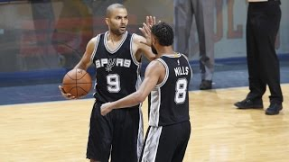 Kawhi Leonard, Tony Parker Combine for 56 Points! Spurs Finish Grizzlies Game 6