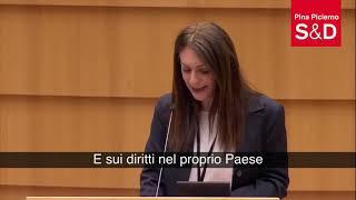 Intervento in aula della parlamentare europea Pina Picierno sul Ritiro della Turchia dalla convenzione di Istanbul.