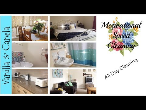 MAJOR CLEANING MOTIVATION/ULTIMATE CLEAN WITH ME/ALL DAY CLEANING