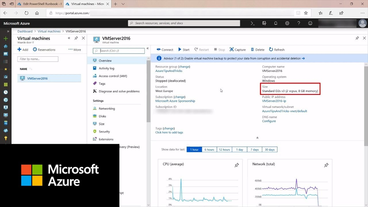 How to use Azure Automation with PowerShell | Azure Tips and Tricks