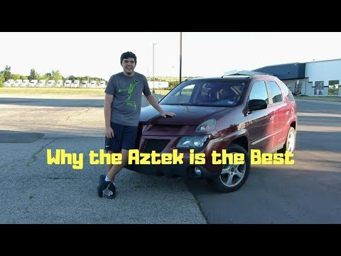 Why The Pontiac Aztek Is the Best Car Ever Made