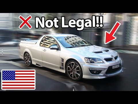 Thumbnail: 6 Cars Banned In America!! :(
