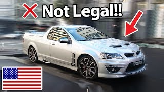 Download 6 Cars Banned In America!! :( Mp3 and Videos