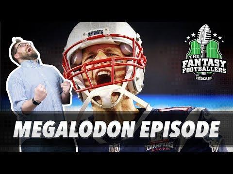 Fantasy Football 2017 - MEGALODON Episode – Week 12 Matchups, Starts & More! - Ep. #485
