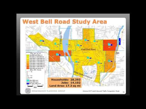 Land use and traffic congestion: The results of research in Arizona