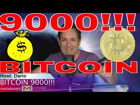 BITCOIN 9000!!! Sky's The Limit