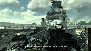 HEAVY CITY COMBAT IN PARIS ! In Epic Shooter Game Call of Duty Modern Warfare 3