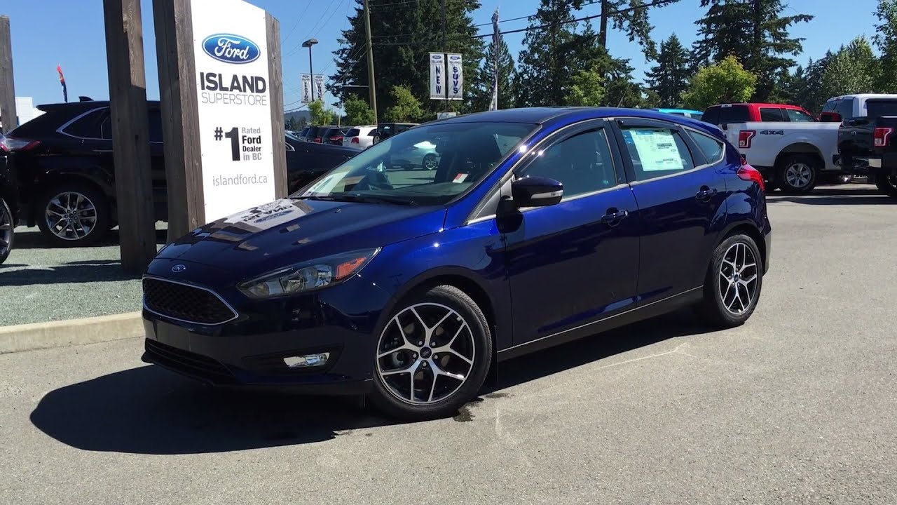 2016 ford focus se plus winter w heated seats review island ford youtube. Black Bedroom Furniture Sets. Home Design Ideas