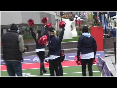 NFL EXPERIENCE: Invades Montreal