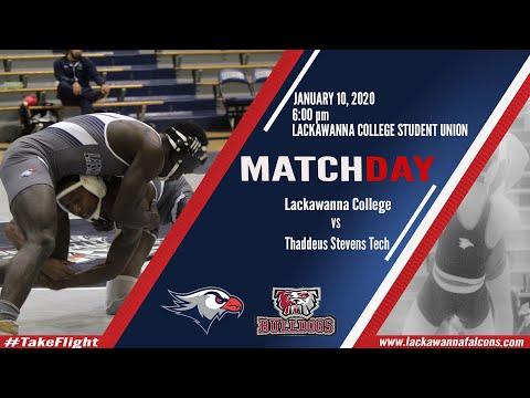 Lackawanna College Men's Wrestling vs Thaddeus Stevens College of Technology