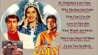 Saajan (1991) Songs In English Full Songs Juke Box (Click On The Song)