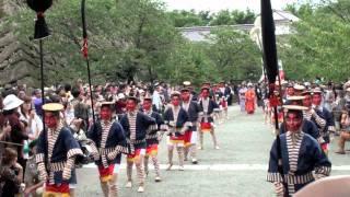 会津まつり(出陣式〜藩公行列) 15分バージョン