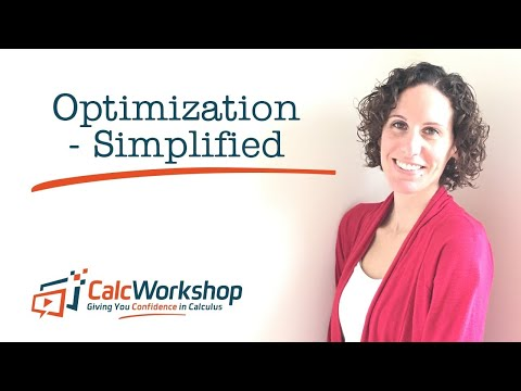 Optimization Calculus 1 - 2 Problems