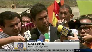 Carlos Ocariz se separa de la alcaldía de Sucre para dedicarse a la campaña electoral