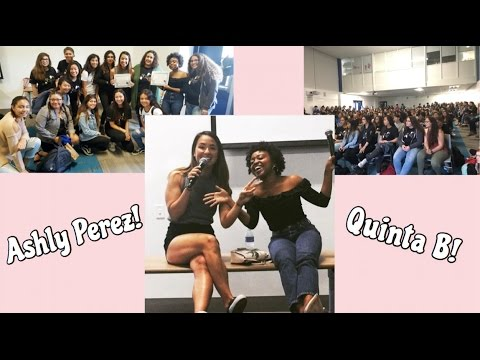 Ashly Perez & Quinta Brunson speaking on 'Self Love and Acceptance' at CCHS