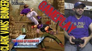 KOF 2002 UM GAMEPLAY: Clark Vans trata de EMULAR A TheGpax con música de Dragon Ball Z
