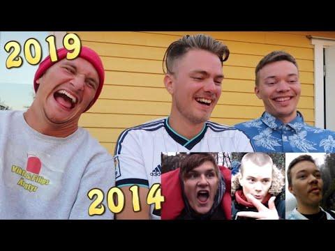 Reagerar på vår första vlogg (där Filip dog!) med Filip & Albin!