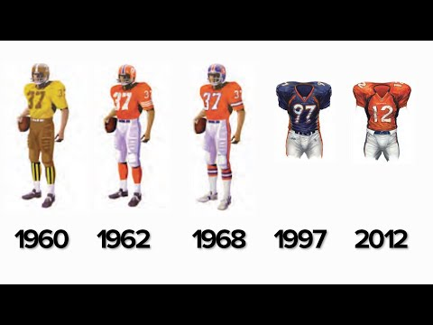 Ranking The Broncos' Uniforms Throughout History