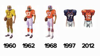 The broncos helped pave way for modern football uniforms, but does that mean their current uniform is best? phil milani and aric dilalla dive into th...