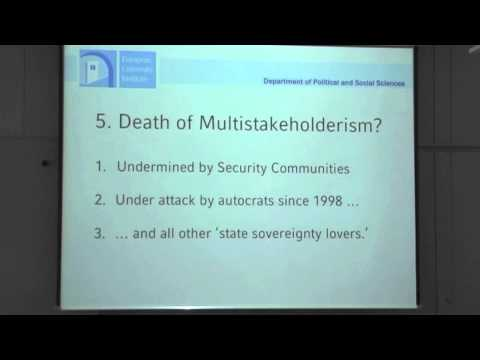 "Ben Wagner: ""The slow death of Multi-Stakeholderism"""