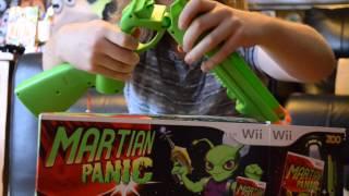 Martian Panic Nintendo Wii RARE Opening