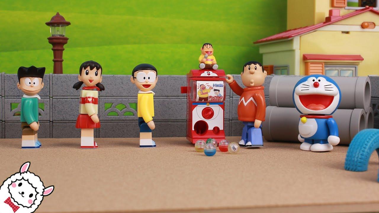 Doraemon toy gashapon miniature capsule ドラえもん おもちゃアニメ ガシャポンミニ doremon Đồ chơi trẻ em 도라에몽 장난감