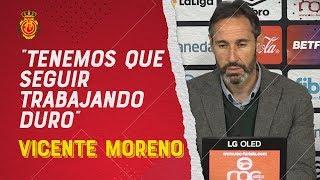 """Vicente Moreno: """"Nos quedan 15 finales"""""""