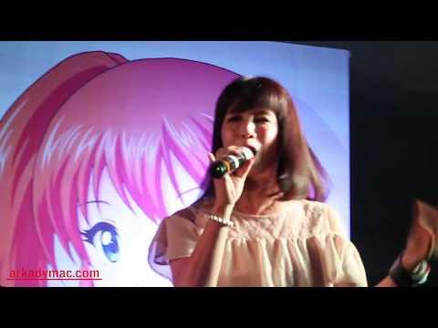 Michiko Makino Pink 5 Sing Bioman Theme Clip