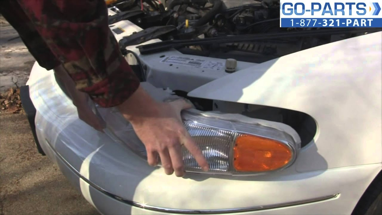 Replace 1997 2005 Buick Century Headlight Bulb How To Change 1998 Park Avenue Wiring Diagram Install 1999 2000 2001 2002 Youtube