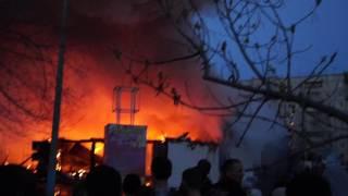Пожар в Минусинске 25.04.2017 Часть 11