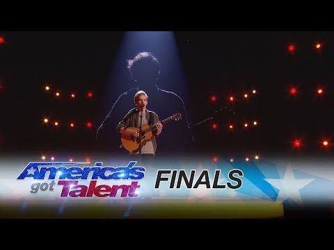 Chase Goehring: Singer/Songwriter Relays A Powerful Message - America's Got Talent 2017